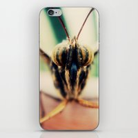 moth iPhone & iPod Skins featuring moth by Sookie Endo