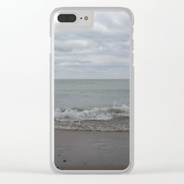 another day, another wave Clear iPhone Case