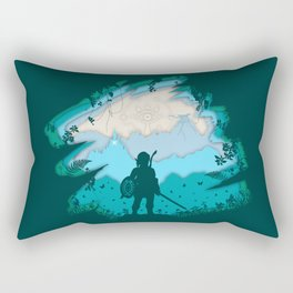 Breath of Warrior Rectangular Pillow