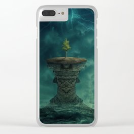 unreachable Clear iPhone Case