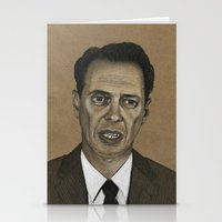 portlandia Stationery Cards featuring Steve Buscemi by Kalynn Burke