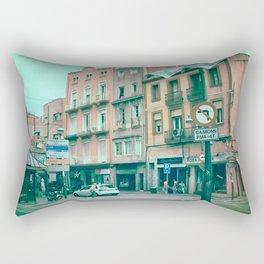 Facing Matter Rectangular Pillow