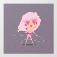 jem Canvas Prints featuring Jem by Rod Perich