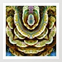 Mushroom Majesty Art Print