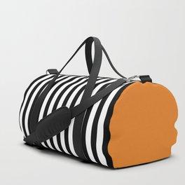 Liquorice allsorts, orange Duffle Bag
