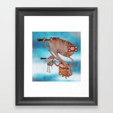 Pirates Framed Art Print