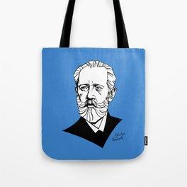 Pyotr Ilyich Tchaikovsky Tote Bag