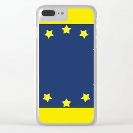 The European   Union 2 Clear iPhone Case