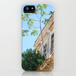 130. House of Trees, Cuba iPhone Case