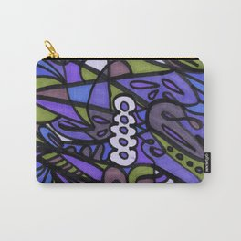 Make Art for Yourself (blue) Carry-All Pouch