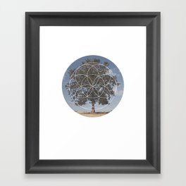 Free Tree Hugs - Geometric Photography Framed Art Print