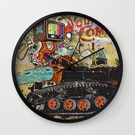 Never Again Tomorrow Express Wall Clock
