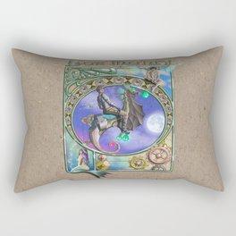 Lux Mundi Rectangular Pillow