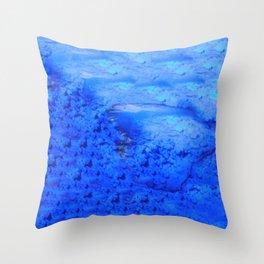 Deep Water Throw Pillow