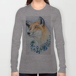 Sweet Fox Long Sleeve T-shirt