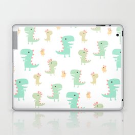 Evolution of a Chicken Pattern Laptop & iPad Skin