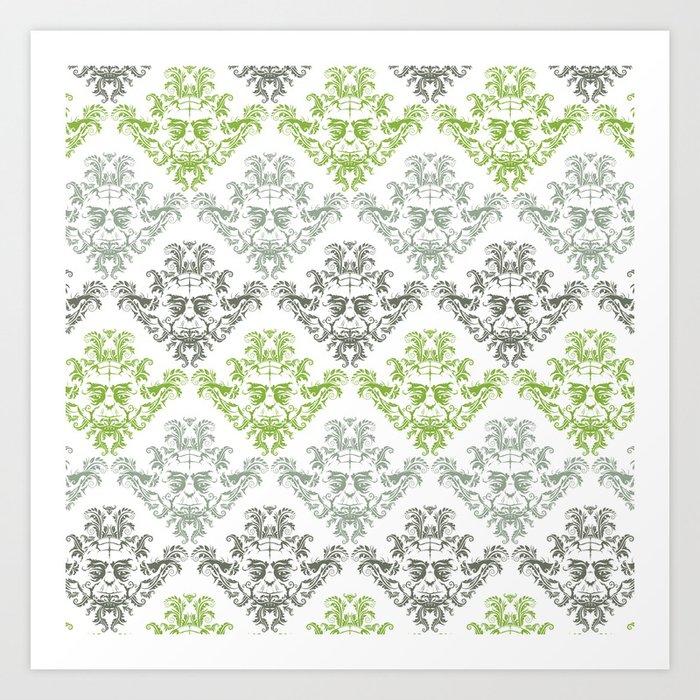 YODamask (Pattern) Art Print