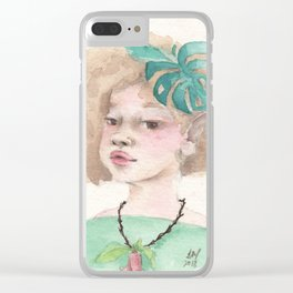 Lia Clear iPhone Case
