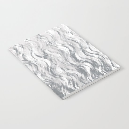 Silver Waves Notebook
