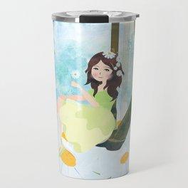 Harp girl 3: Daisy Travel Mug