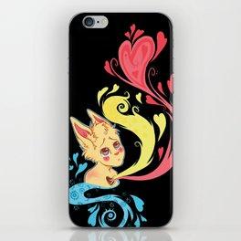 Heavy Hearts iPhone Skin