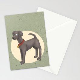 Cute Moony Stationery Cards