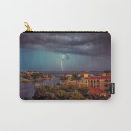 Lightening in the Bay Carry-All Pouch