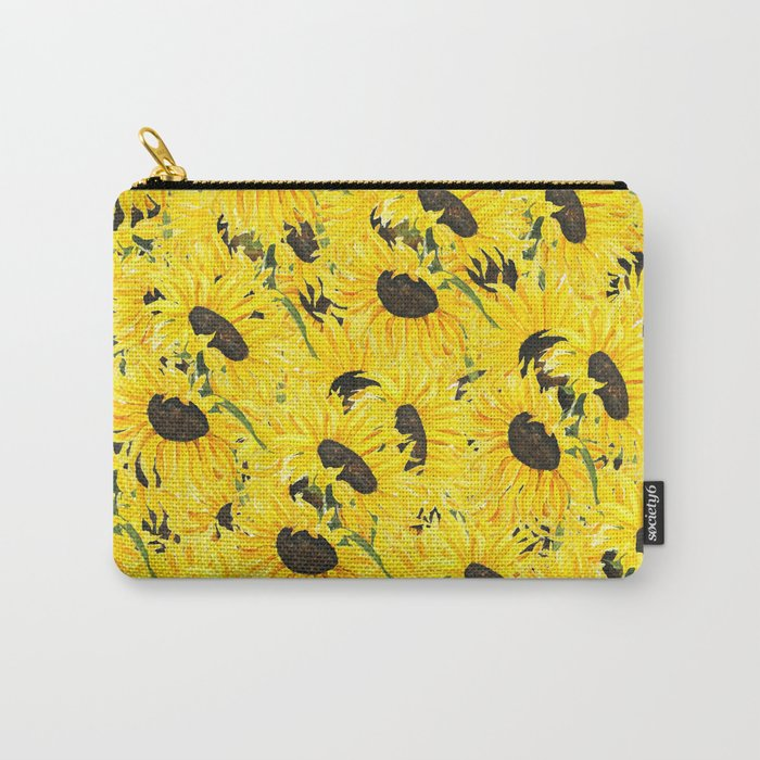sunflower pattern 2018 1 Carry-All Pouch