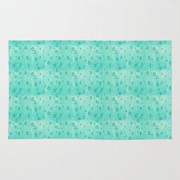 Water Drops Pattern Rug