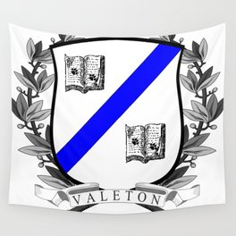 Valeton University Crest Wall Tapestry