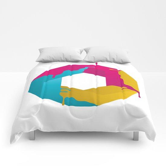 Logic Sucks Comforters