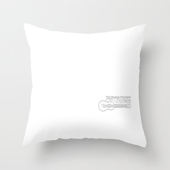 The White Album Throw Pillow