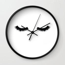 Lash Love Wall Clock