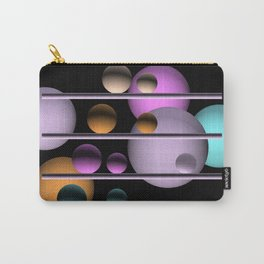 balls and 4 colors Carry-All Pouch