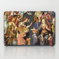 angels iPad Cases featuring Angels by Vesna Bursich
