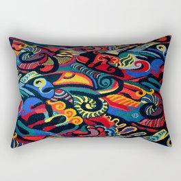 Arcade Carpet #1 - Toucan Rectangular Pillow