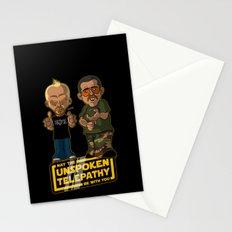 Unspoken Telepathy Stationery Cards