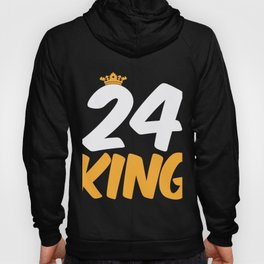 24. Birthday Present 24 Years Old Funny Gift Hoody