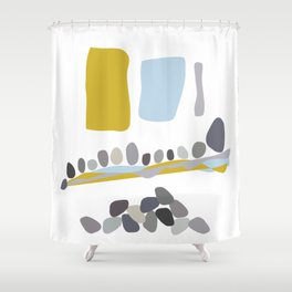 Rolling in the Deep Shower Curtain