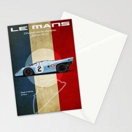 Le Mans Racetrack Vintage Stationery Cards