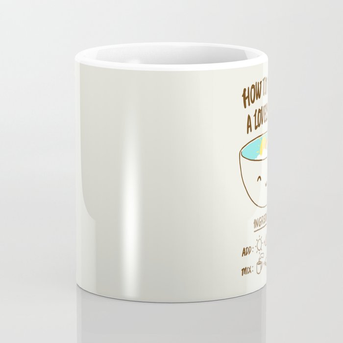How to make a lovely day Coffee Mug