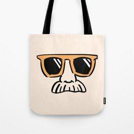 Too Cool (yellow orange) Tote Bag