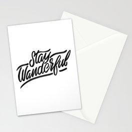 Stay Wanderful Stationery Cards