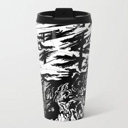 Gone Fishin' Metal Travel Mug