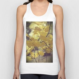 And they were all yellow Unisex Tank Top