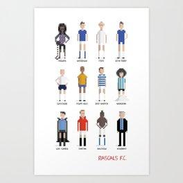 Rascals F.C. Art Print