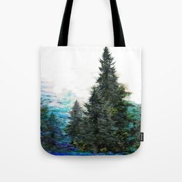 GREEN MOUNTAIN PINES LANDSCAPE Tote Bag
