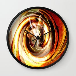 Creating With Fire Wall Clock