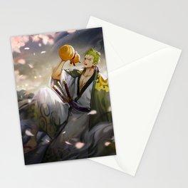 Zoro Samurai Stationery Cards