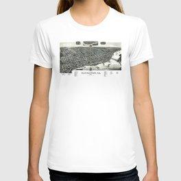 Davenport - Iowa - 1888 T-shirt